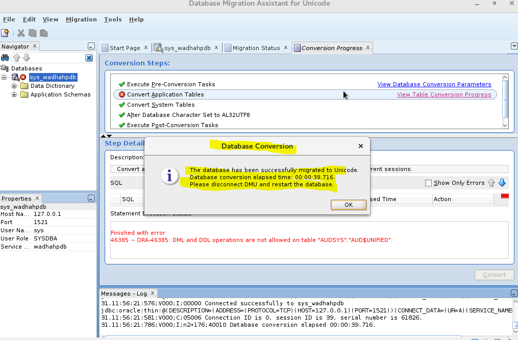 Change a PDB Character Set within Oracle database 12cR2 (12.2.0.1 ...