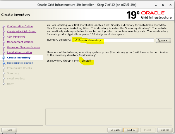 Install Oracle Grid Infrastructure Standalone 19c3 | Wadhah