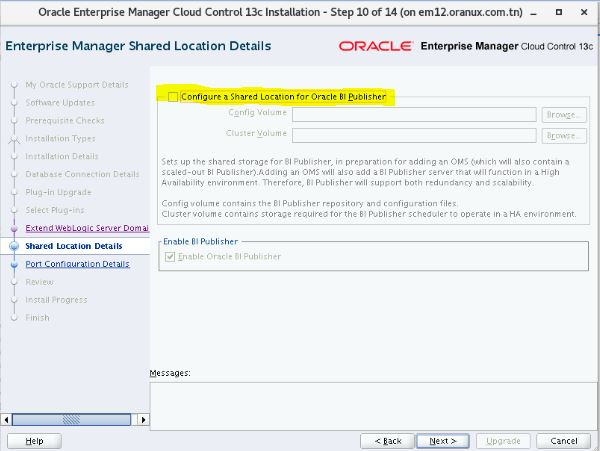 Upgrade Oracle Enterprise Manager Cloud Control 12 1 0 4 to