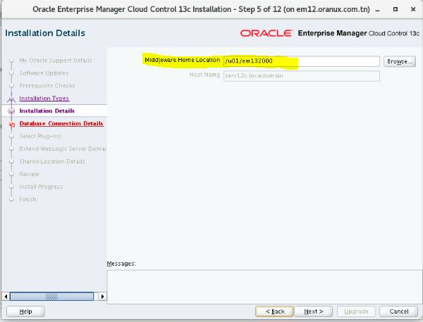 Upgrade Oracle Enterprise Manager Cloud Control 12 1 0 4 to 13 2 0 0