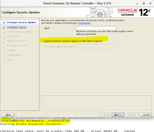 Install Oracle database 12cR1 RAC 3 nodes on Oracle Linux 6u10